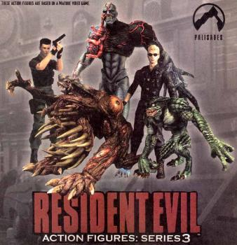 Resident evil series 3 action figure Tyrant
