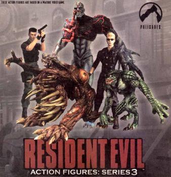 Resident evil series 3 action figure Wesker