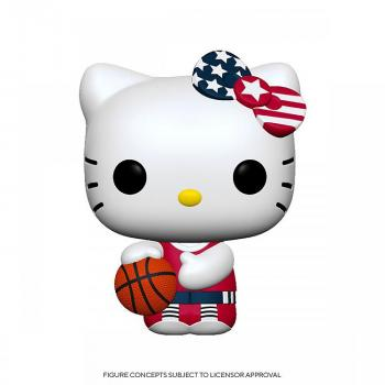 Hello Kitty Sports Pop Vinyl Figure - Basketball Hello Kitty