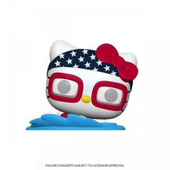 Hello Kitty Sports Pop Vinyl Figure - Swimming Hello Kitty