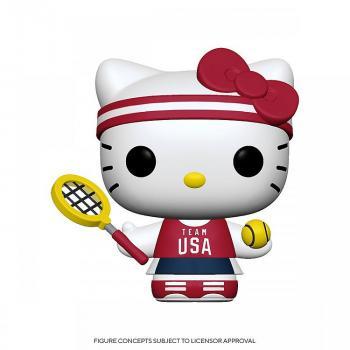 Hello Kitty Sports Pop Vinyl Figure - Tennis Hello Kitty