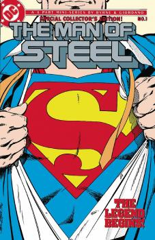 SUPERMAN: THE MAN OF STEEL VOL. 01 (HARDCOVER)