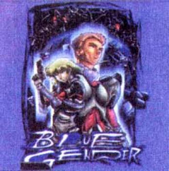 Blue gender Groupshot T-shirt L
