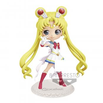 Sailor Moon Eternal the Movie Q Posket Mini Figure - Super Sailor Moon Ver. B