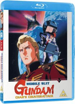 Mobile Suit Gundam Chars Counter Attack Blu-Ray UK