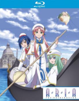 Aria The Origination Season 03 + OVA's Blu-Ray