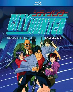City Hunter Season 01 Part 02 Blu-Ray