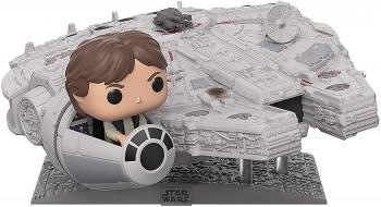 Star Wars Deluxe Pop Vinyl Figure - Han Solo with Millennium Falcon (Special Edition)