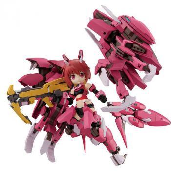 Alice Gear Aegis Desktop Army Action Figure - Rin Himukai