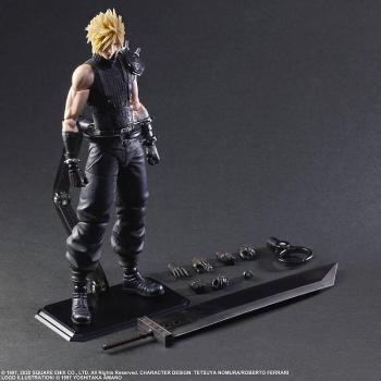 Final Fantasy VII Remake Play Arts Kai Action Figure Cloud Strife Ver. 2
