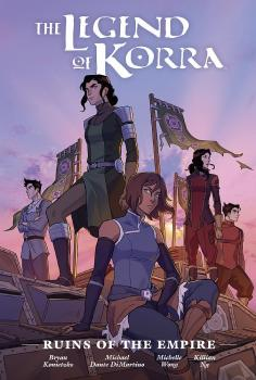 LEGEND OF KORRA: RUINS OF EMPIRE LIBRARY EDITION (HARDCOVER)