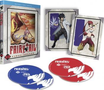 Fairy Tail Part 23 Blu-Ray/DVD Combo Final Season