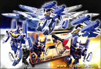 Macross Transformable Action figure Super valkyrie VF-1 S Reg ver