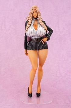 Gal Sister President & The Harlem Office PVC Figure - Nishikiori Ai 1/7