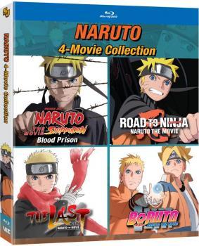 Naruto 4-Movie Collection Blu-Ray