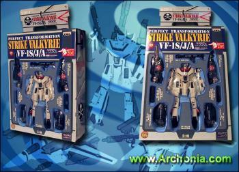 DX Macross Transformable Figure Strike Valkyrie Type B