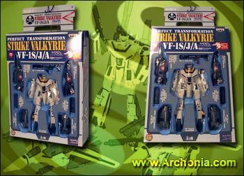 DX Macross Transformable Figure Strike Valkyrie Type C