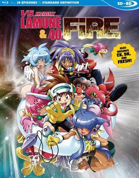 VS Knight Lamune & 40 Fire Blu-Ray