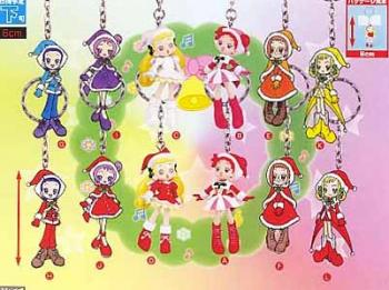 Ojamajo Doremi Christmas key holder set B
