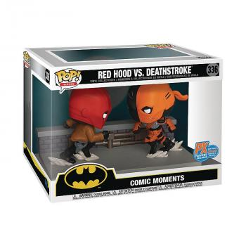 DC Comics Comic Moment Pop Vinyl Figure - Red Hood Vs Deathstroke (SDCC 2020 Previews Exclusive)