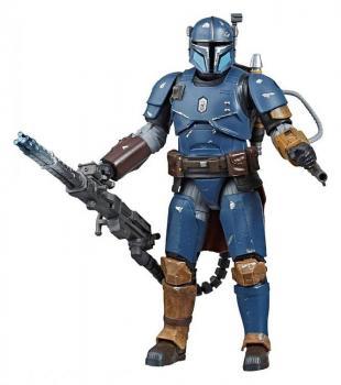 Star Wars the Mandalorian Black Series Action Figure - Heavy Infantry Mandalorian Exclusive