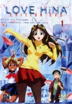 Love Hina DVD 1 PAL