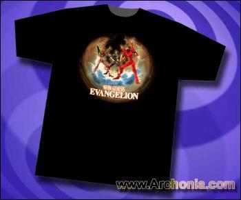 Neon genesis evangelion EVA 01 Unit 00 Unit 02 T-shirt L