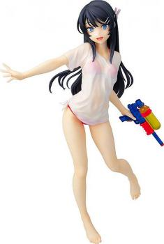 Rascal Does Not Dream of Bunny Girl Senpai PVC Figure - Mai Sakurajima Water Gun Date Ver. 1/7