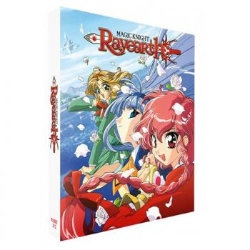 Magic Knight Rayearth Part 01 Blu-Ray UK Collector's Edition