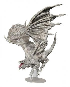 D&D Icons of the Realms Miniatures Adult White Dragon Premium Figure