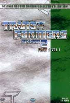 Transformers Season 2 Part 1 DVD