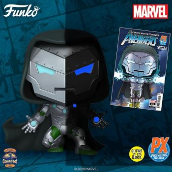 Marvel Infamous Iron Man Pop Vinyl Figure (HCF 2020 Previews Exclusive)