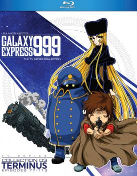 Galaxy Express 999 TV Series Collection 03 Blu-Ray