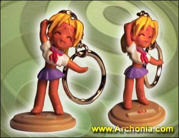Love Hina Casual Keyholder C Koalla