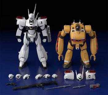 Mobile Police Patlabor Moderoid Plastic Model Kits - AV-98 Ingram & Bulldog 1/60