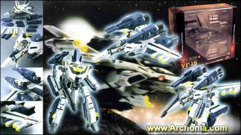 Macross Transformable Action figure VF-1S Strike Valkyrie