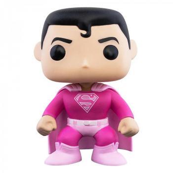 Superman Pop Vinyl Figure - Superman (Breast Cancer Awareness)