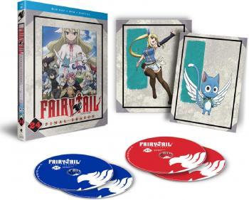 Fairy Tail Part 24 Blu-Ray/DVD Combo Final Season