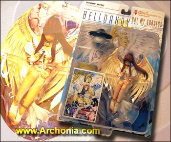 Oh my Goddess Action figure Series 3 Belldandy Limited edition