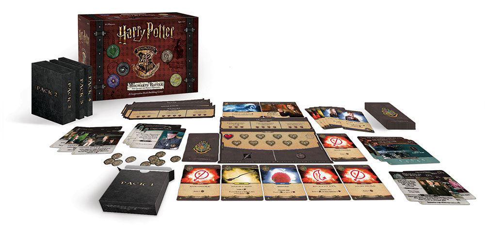Buy Deck Building Games Harry Potter Hogwarts Battle Deckbuilding Game The Charms And Potions Expansion Archonia Com