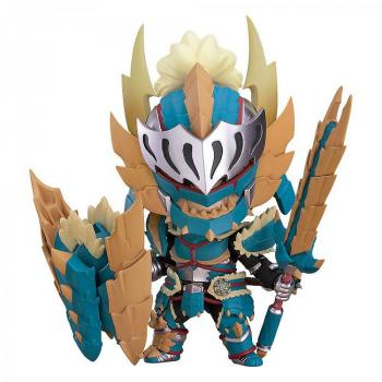 Monster Hunter World Iceborne PVC Figure - Nendoroid Hunter Male Zinogre Alpha Armor