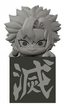 Demon Slayer: Kimetsu No Yaiba Hikkake PVC Figure - Hashira 2 Shinazugawa Sanemi