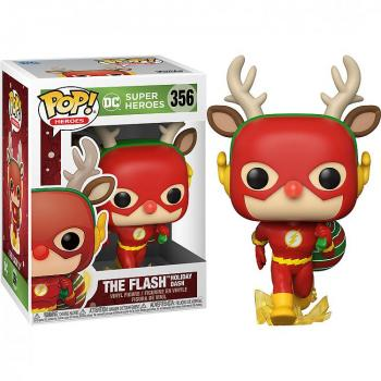 DC Comics Holiday Pop Vinyl Figure - Flash (Rudolph)