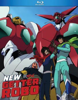 New Getter Robo Blu-Ray