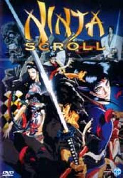 Ninja scroll DVD Dutch