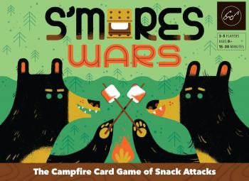 S'mores Wars The Campfire Party Game of Snack Attacks