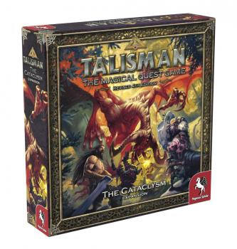 Talisman 4th edition Boardgame Expansion Set The Cataclysm