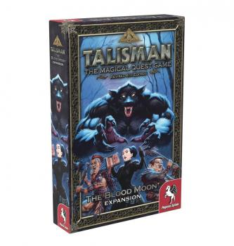 Talisman 4th edition Boardgame Expansion Set The Blood Moon