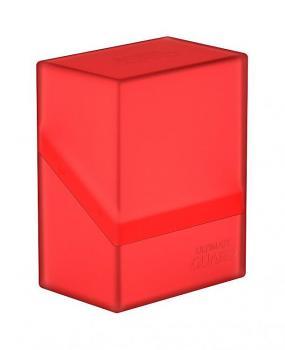 Ultimate Guard Boulder Deck Case 60+ Standard Size Ruby