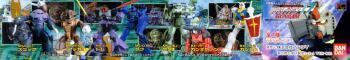 Mobile suit Gundam Capsule toys